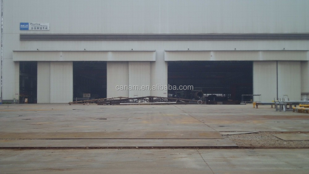 Big Hangar Silding Door