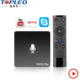 Alibaba hot selling free internet best android tv box digital satellite receiver Support set top box wifi