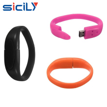 Wrist Bands Bracelet rubber USB Flash Drives 8GB 16GB 32GB 64GB