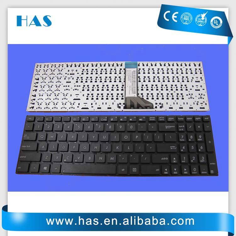 gros clavier d 39 ordinateur portable pour asus x551ca turc noir sans cadre colonne clavier id de. Black Bedroom Furniture Sets. Home Design Ideas
