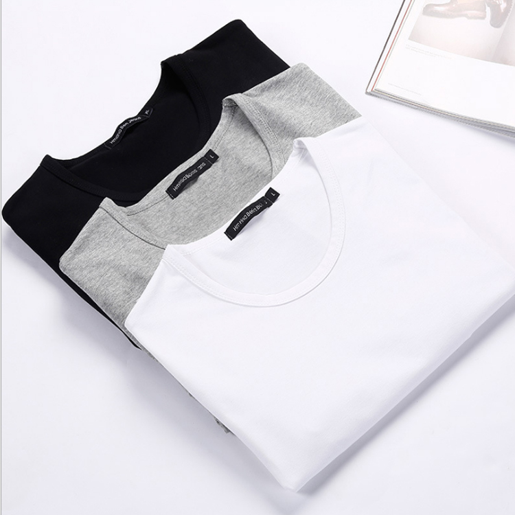 Custom printed 180Gsm cotton tshirt dress blank t-shirt dress white t shirt dress
