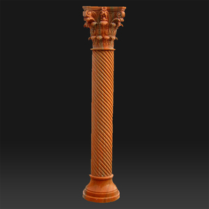 European style stone interior decoration pillar