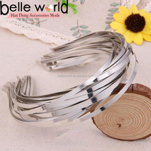 5mm New Wholesale Blank Plain Metal Headband Hair Band For Diy