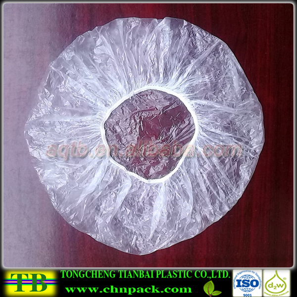 Disposable Food Grade Plastic Elastic Food Plate Covers