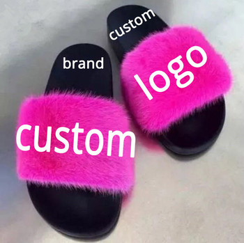 17a480aea8c59 Best selling products custom logo women fur slippers mink fur slides, View  mink fur slides, Janefur, Janefur Product Details from Tongxiang Janefur ...