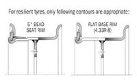 Forklift Wheel Rim 5.00s-12,3-piece Lock Ring Wheels - Buy Lock ...