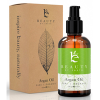 Organic Argan Oil - for Hair, Face, Skin and Body - 100% Pure and Certified Organic Cold Pressed Argan Oil of Morocco - 585144