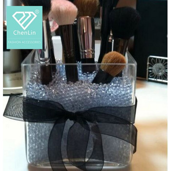 brush holder beads. vase glass filler 4mm beads for centerpieces \u0026 makeup brush holders holder o