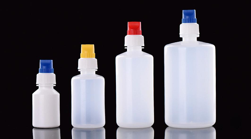 3 ml ldpe พลาสติกใส e - liquid เครื่องสำอาง dropper ขวด