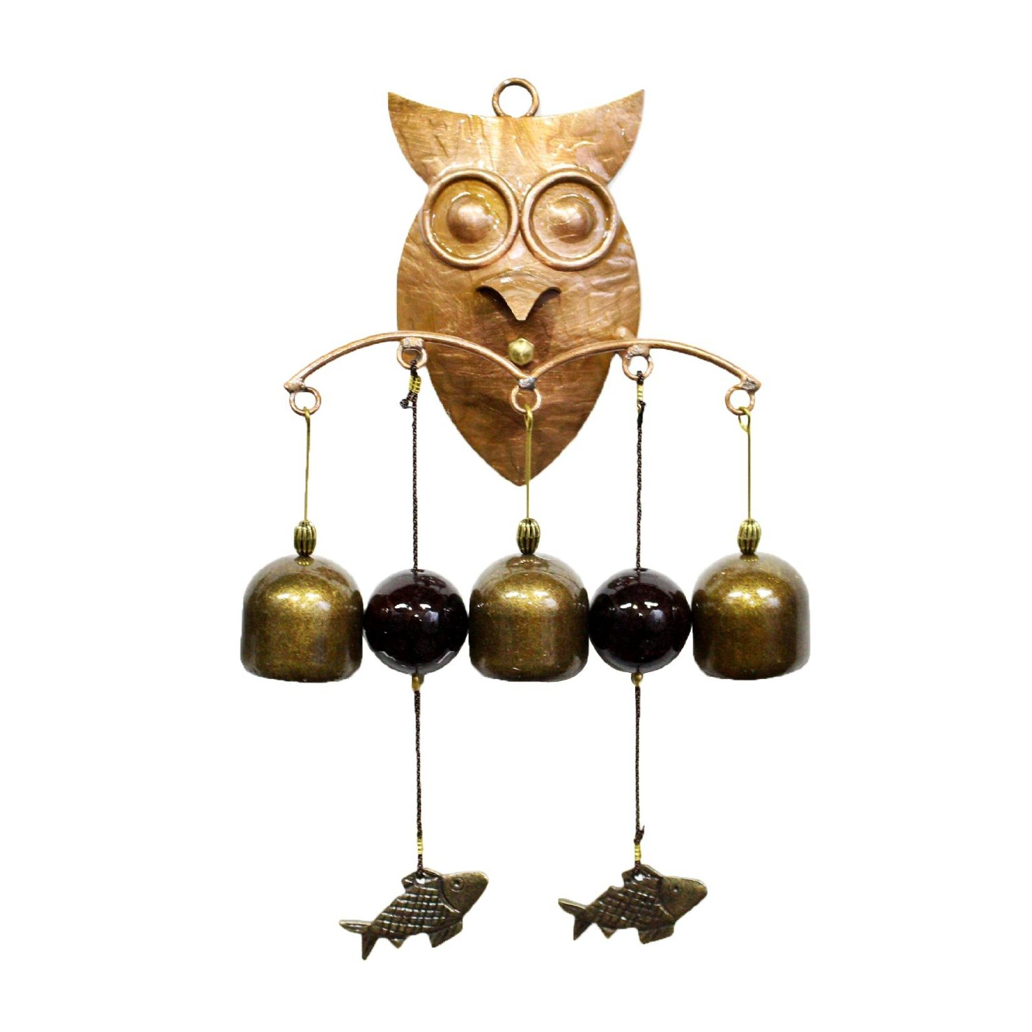 Cheap Store Door Chime Find Deals On Line At How To Add A Second Doorbell Get Quotations Brass Owl Bell Entrance Wind Shop Keeper Handmade 0208