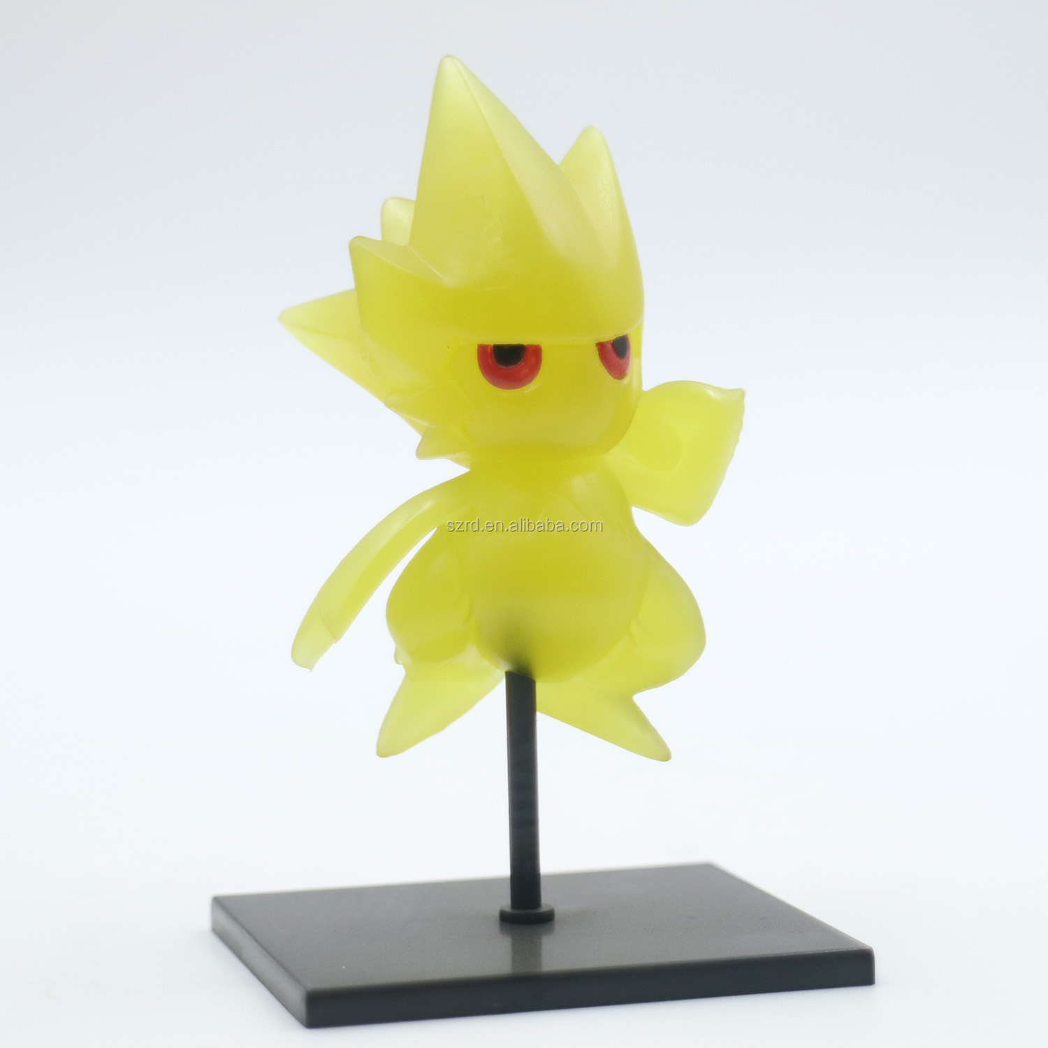 custom 3d plastic figure 7cm pvc carton nimi model for decoration