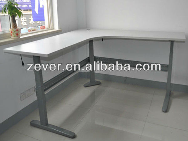 environmental automatic adjustable height computer table