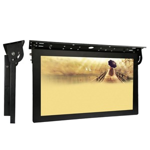 15 Inch Cheap Bus usb Media Wifi Advertising Screen