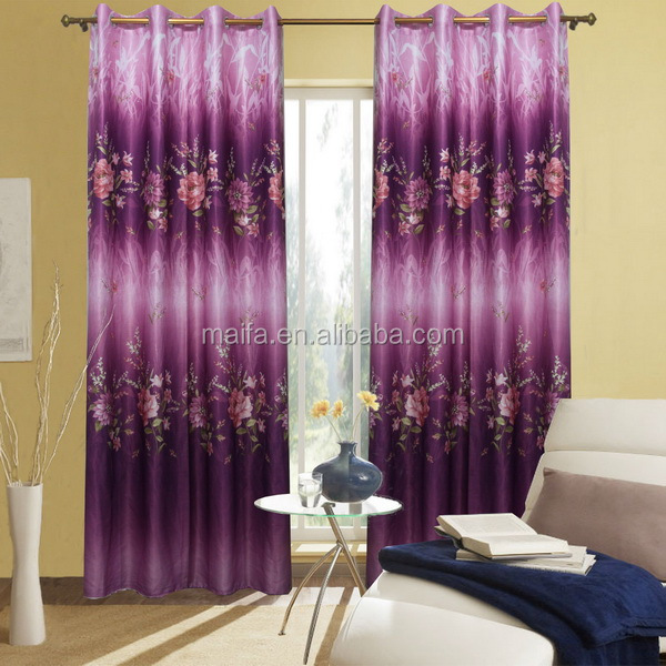 Beautiful Pattern Design 100% Polyester Wholesale Church Curtains ...