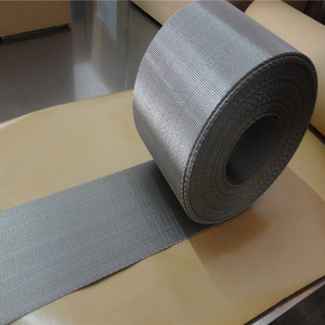 10 cm width stainless steel reverse dutch weave automatic mesh belt for extrusion plastic machine