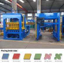 Production machine simple sand block hydraulic paving brick making machine