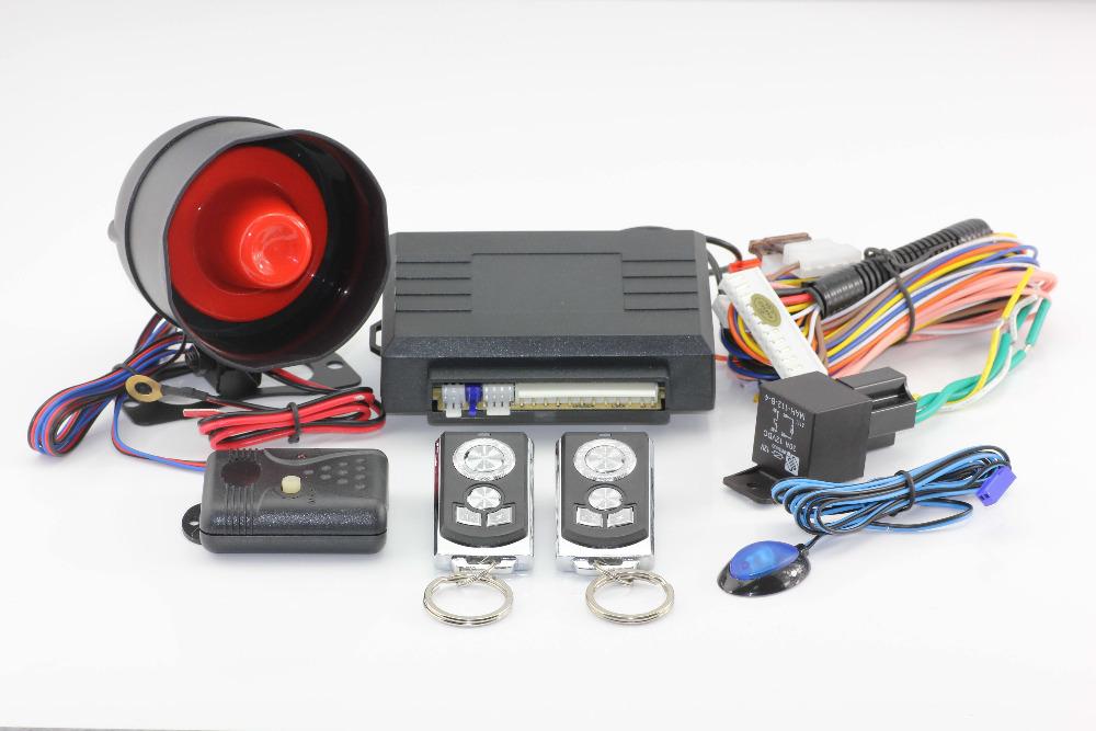 Top Quality K-fox One Way Car Alarm Security System