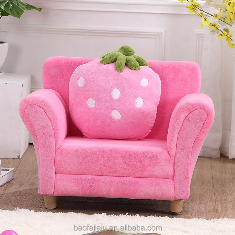Excellent Kids Strawberry Coral Fleece Single Sofa For Living Room Buy Kids Coral Velvet Sofa Bedroom Kids Sofa Kids Strawberry Single Sofa Product On Gmtry Best Dining Table And Chair Ideas Images Gmtryco
