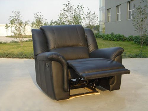 Leather Chair And A Half Recliner