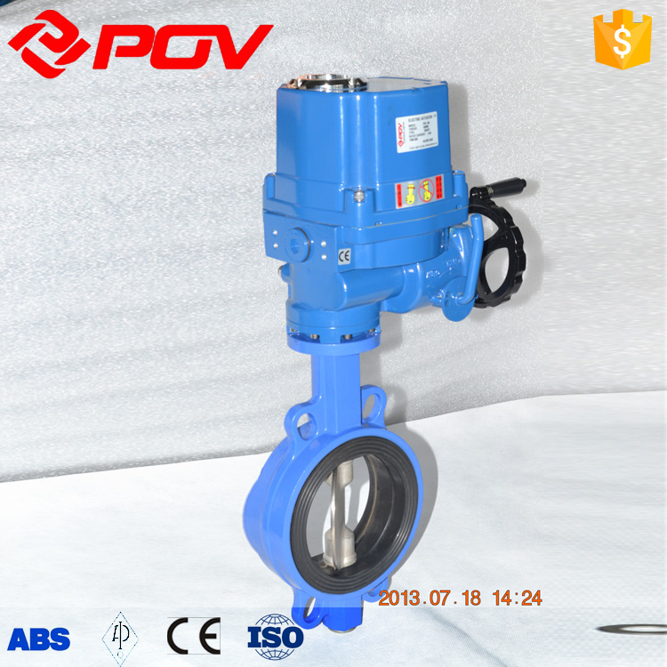fire protection butterfly valve explosion proof with actuator