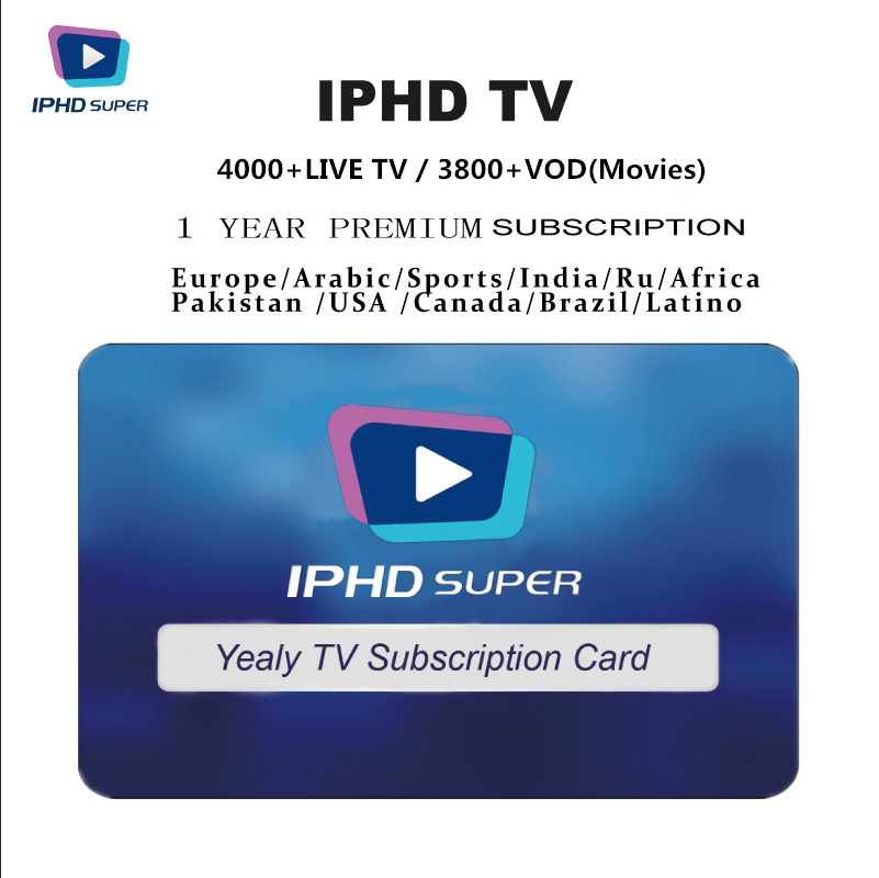 12 Months Iptv Subscription Usa Arabic Indian African Europe Canada Channels M3u 12 Months Iptv Subscription