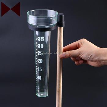 Durable Rain Meter Ps Plastic Measuring Cup For Outdoor Garden - Buy Garden  Plastic Rain Gauge,Weather Rain Gauge,2012 Hot Sell Plastic Rain Gauge