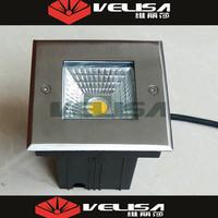 Waterproof IP67 12V 24V Square inground lighting led pathlight fixture