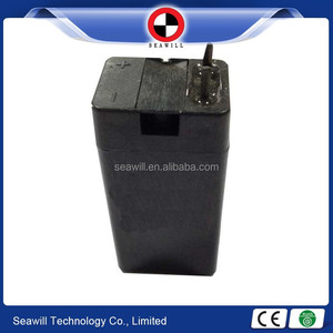 Rechargeable lead acid battery 4v 0.5ah battery for LED torch