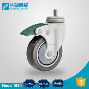Engineering Plastic material wheels ROHS medical caster