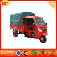 Chinese Wholesale Customtricker Steel Horse SH30.1 semi-closed Water Cool 250cc three wheel cargo motorcycles