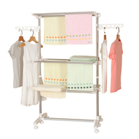 Hanger Stand, Foldable Coat Hanger, Clothes Dry Rack