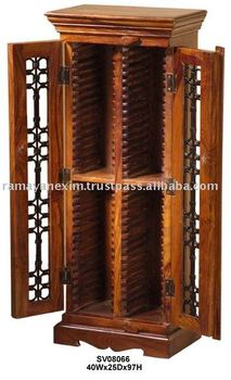 Home Furniturecddvd Cabinetcd Racksheesham Wood Furniture