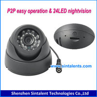 Dome Camera Pan/Tilt/Zoom Wireless IP Security Surveillance System 2 megapixel ip camera with antenna