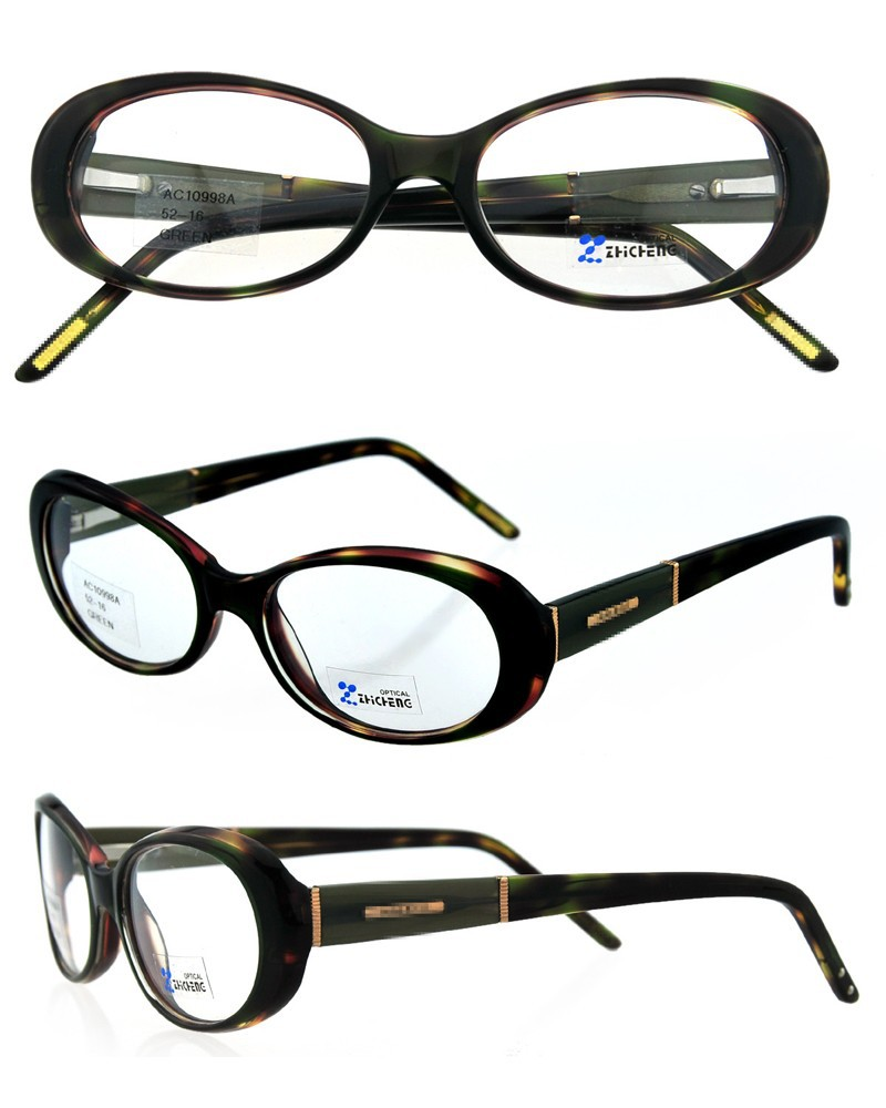 optical accessories 2015 italy designer with spring hinge acetate CE FDA