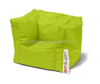 Hohe Qualität Baumwolle Leinwand Kinder Sitzsack Sessel Sitzsack