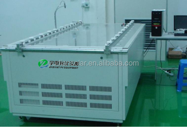 Radiant free training and installation solar module manufacturing equipments solar panel turnkey production line
