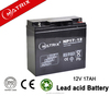 Matrix high quality full capacity rechargeable 12v 17ah 20hr lead acid battery