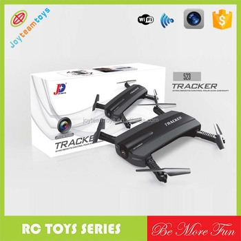 Jxd 523 Tracker Foldable Mini Rc Selfie Drone With Wifi Fpv 720p Hd Camera  Altitude Hold&headless Mode Rc Drone Vs Jjrc H37 - Buy Foldable Mini Rc