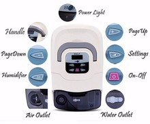 Sleep Apnea Portable CPAP Machine with Mask, Tube and Humidifier cpap therapy for sleep apnea machine
