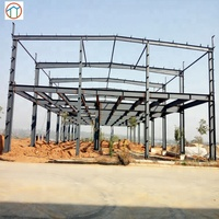 Prefabricated steel structure hotel tall buildings / commercial residential design