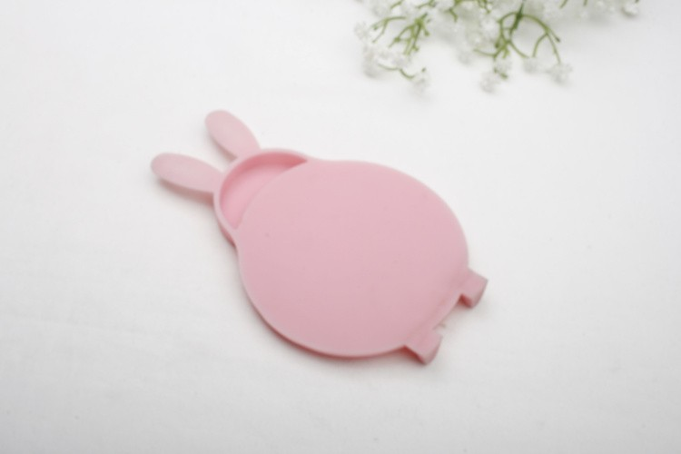 Rabbit shape for mini size silicone place mats & coaster