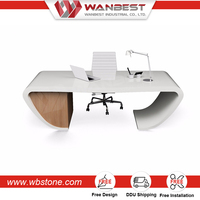 Shenzhen supplies tables CEO office desk furniture