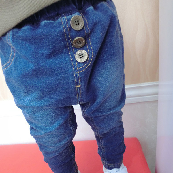 2016 New Arrival Baby s Denim Trousers Spring Autumn European Style 0 3T Boys Girls Jeans