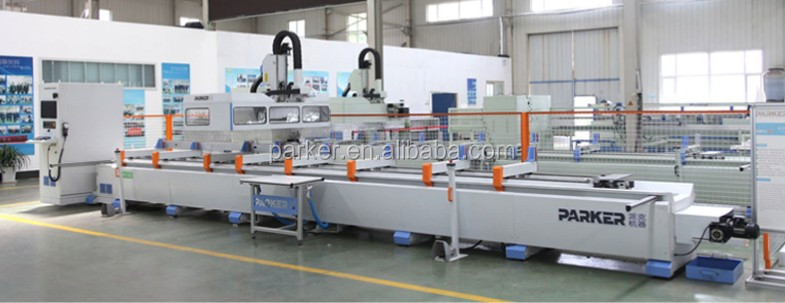 Curtain Wall Fabrication Machine,Industrial Aluminum Profile ...
