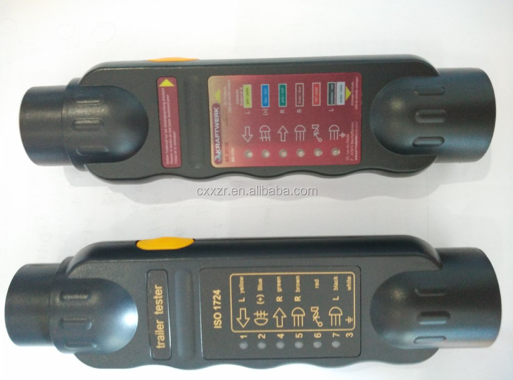 Test Trailer Wiring Harness Multimeter : Pin trailer wire harness testers buy euro socket