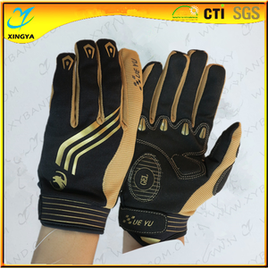 2016 China Supplier New Design Full Finger Cycling Glove