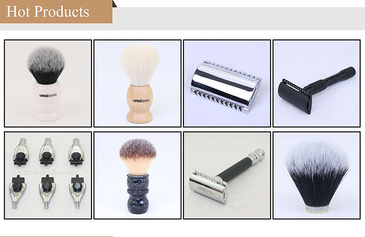 Wholesale  Private Label  Synthetic Nylon Shaving Brush Knot