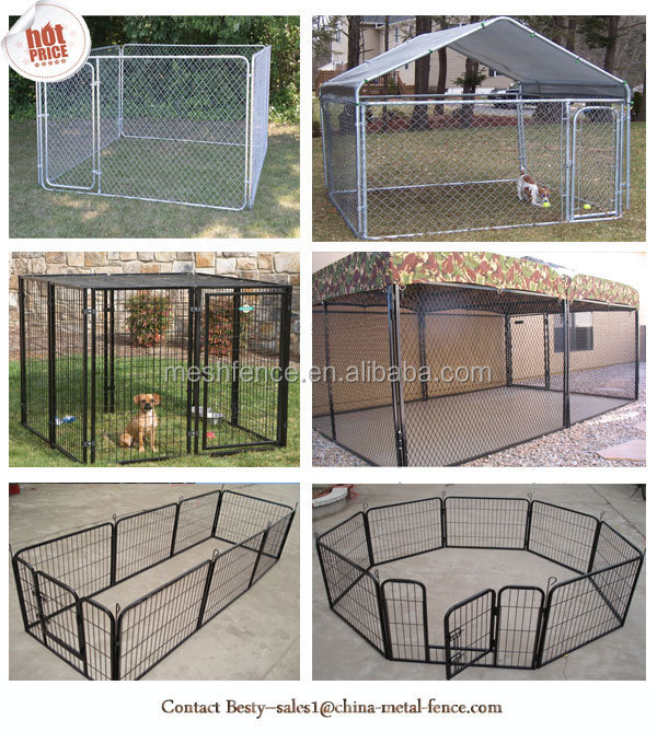 Alibaba china cheap outdoor large portable dog cages for for Large dog cages for sale cheap