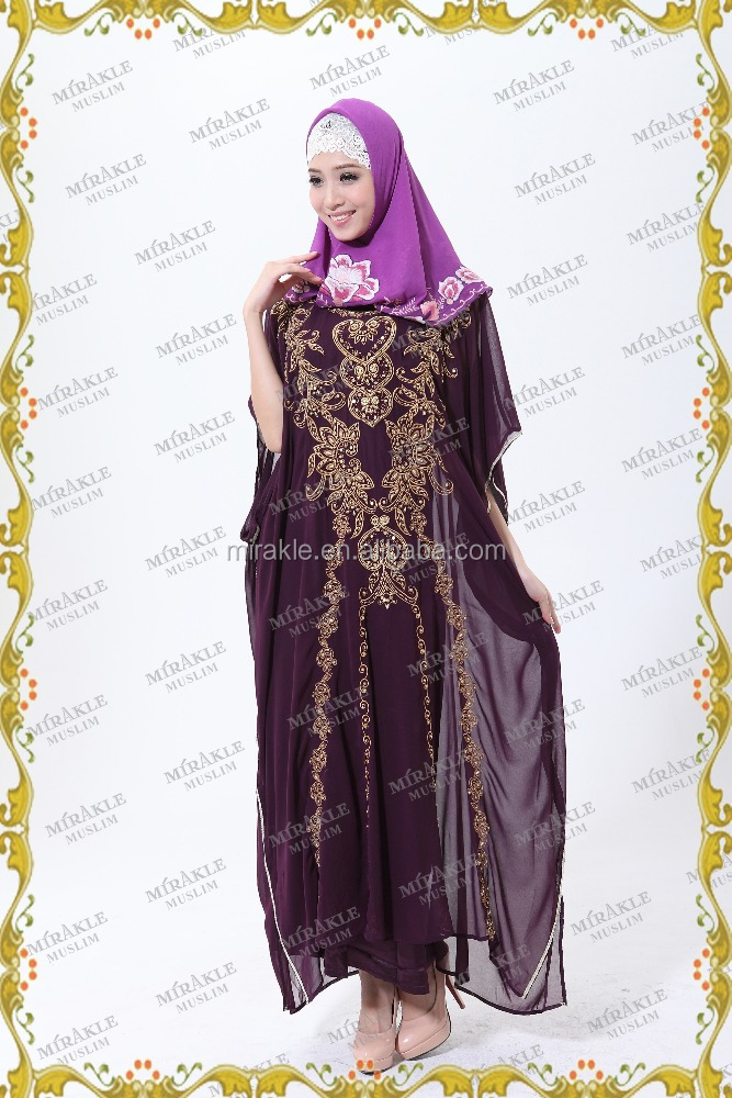 MF16879 Top quality factory muslim clothing women dress kaftan