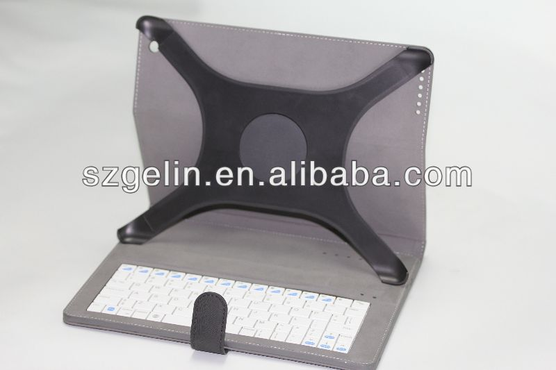 solar charger case witt bluetooth keyboard for ipad